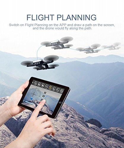 JJRC H47 ELFIE Plus Faltbare Selfie Drone - 4