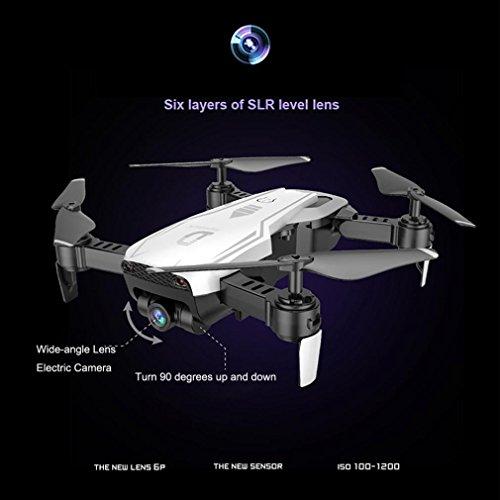X12 Drohne mit 720 P HD Kamera, Bescita Weitwinkel Drone Wifi FPV 2.4G Ein Schlüssel Return Quadcopter Spielzeug Geschenk (Weiß) - 7