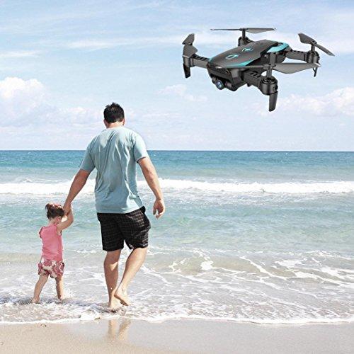 X12 Drohne mit 720 P HD Kamera, Bescita Weitwinkel Drone Wifi FPV 2.4G Ein Schlüssel Return Quadcopter Spielzeug Geschenk (Weiß) - 8