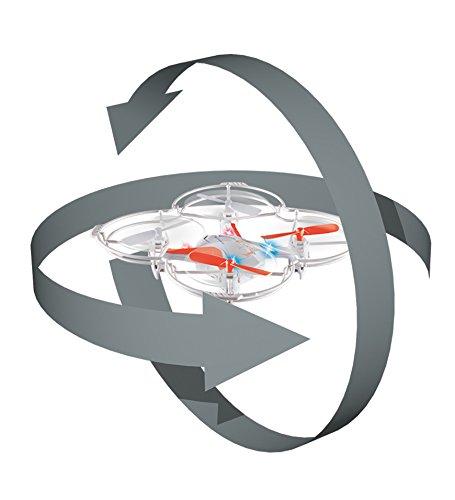 RC DT VCQ-Voice Quadrocopter, 12 cm - 2