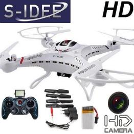 s-idee 01251 Quadrocopter S183C HD KAMERA 4.5 Kanal 2.4 Ghz Drohne mit Gyroscope Technik - 1